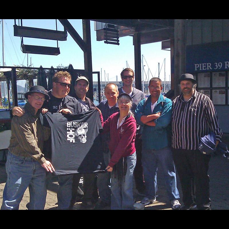 Greg Frisbee and Crew, September 10, 2012