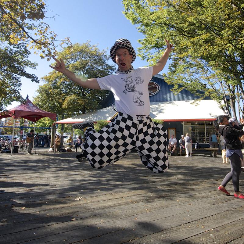 David Aiken (The Checkerboard Guy) September 16, 2012