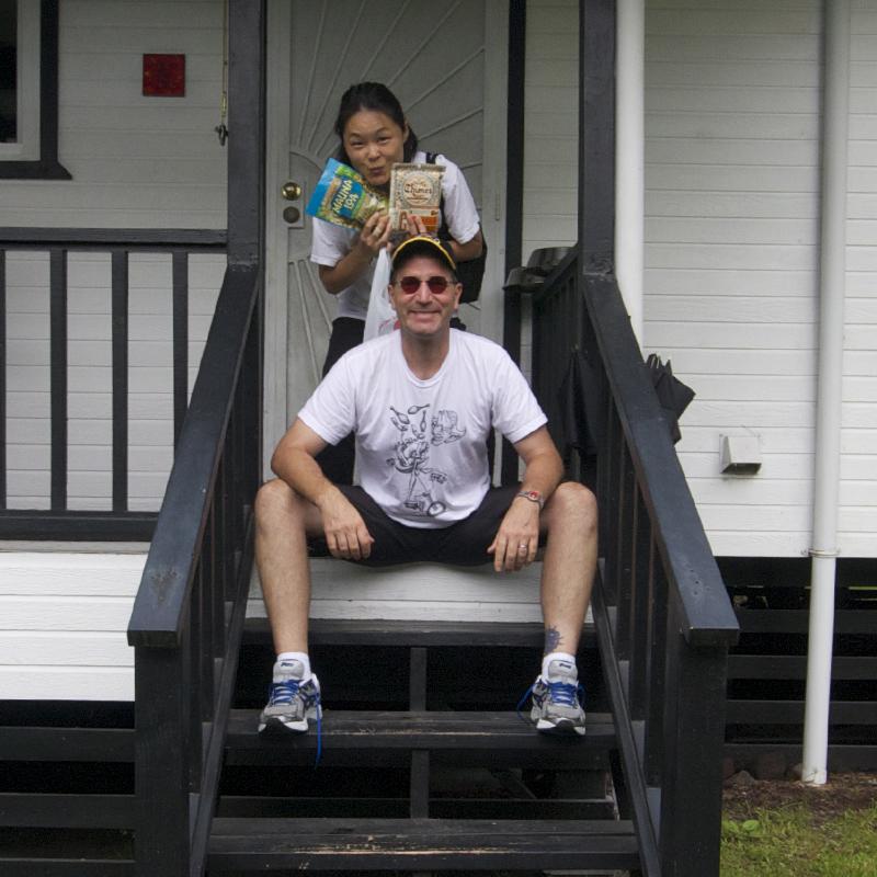 David Aiken and Kumi Nelson, October 1, 2012