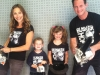 Chad Taylor and Family - August 10, 2012
