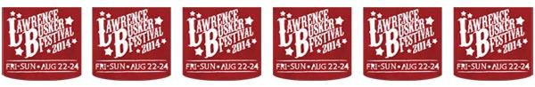 Lawrence Buskers Festival Logo