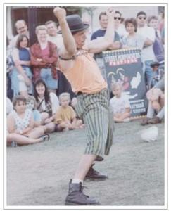 Neal Cassidy Rempel as S.W. Danger - The Danger Juggler