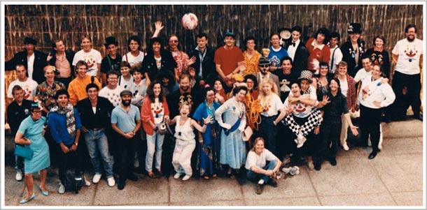 1989 Edmonton International Street Performer's Festival Cast