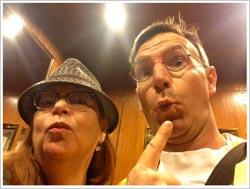Shelley Switzer and David Aiken